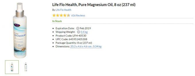 magnesium oil iherb